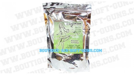 billes bio 0.20g airsoft 2500 billes blanches kyou