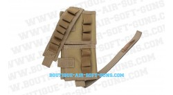 porte cartouches airsoft coyote