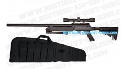 Urban Sniper avec lunette, bipied et housse 120 cm