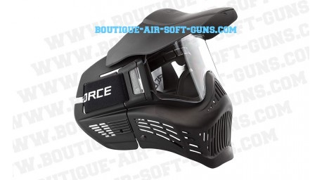 Masque de protection airsoft noir v force armor anti buée