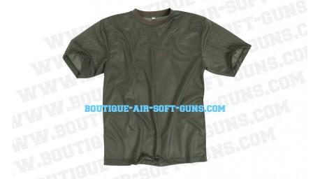 tee shirt vert respirant taille M
