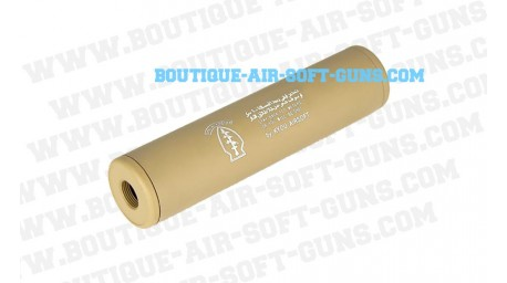 Silencieux M6 Special Force tan 145 mm