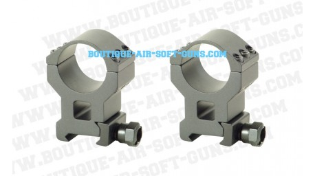 Colliers de montage haut diamètre de 25.4 et 30 mm pour rail de 22mm