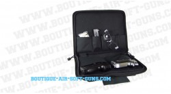 Housse de transport noire pour arme longue - 100 cm