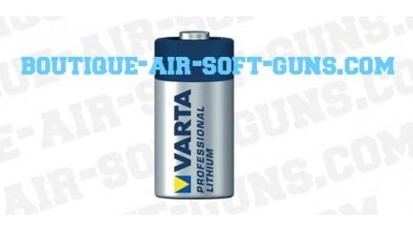 Pile Varta CR123A (Lithium Professional)