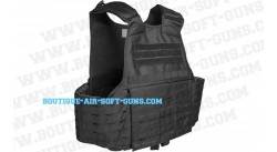 Gilet Carrier laser cut noir