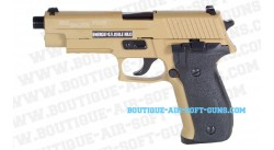 Sig Sauer P226 TAN full-métal CyberGun gaz blowback