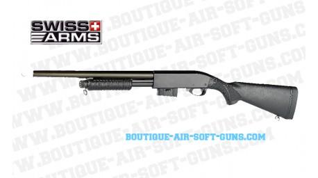 Fusil a pompe airsoft métal ShotGun Swiss Arms Spring 1.4 joule
