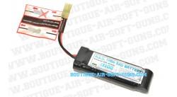Batterie 1100 mAh 8.4V pour airsoft électrique type mini