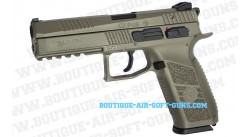 Réplique CZ P09 Duty tan Gbb airsoft