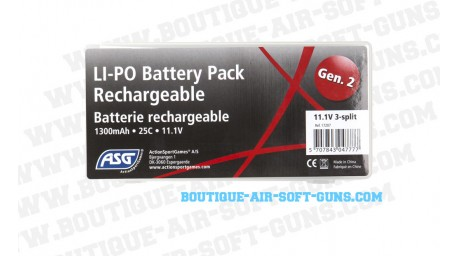 Batterie 11.1V LI-PO 1300 mAh