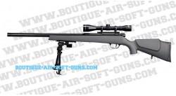 Fusil Sniper TS SX9 +  Bipied + Lunette + Billes