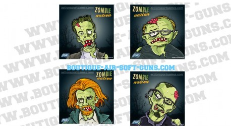 100 Cibles ZOMBIE Nation ASG