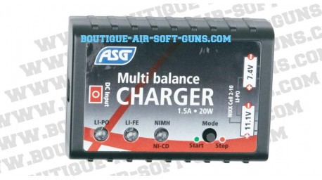 Chargeur de batterie Airsoft