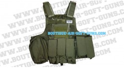 Gilet Tactique Airsoft OD