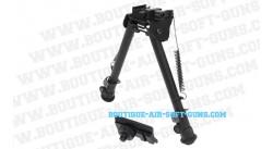 Bipied UTG Tactical OP-2 métal QR rail picatinny