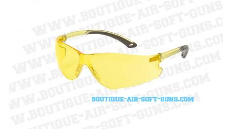 Lunettes de protection pour airsoft jaune Swiss Arms