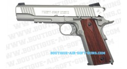 Colt 1911 Rail Gun Co2 Chrome