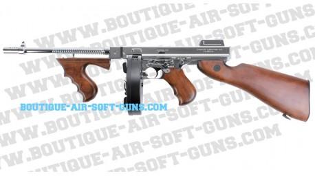 Thompson M1928 Bois / Argent édition limité