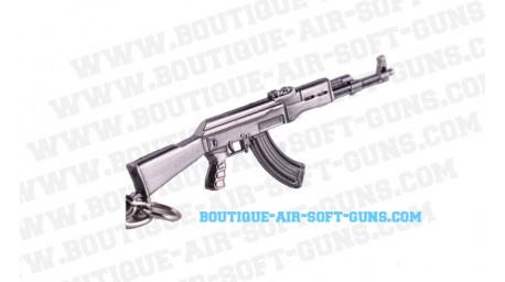 Porte-clé fusil AK47 en métal
