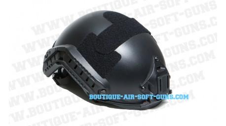 Casque airsoft Fast strike noir pour accessoires