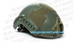 Casque airsoft Fast strike vert pour accessoires