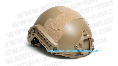 Casque airsoft Fast strike Desert pour accessoires