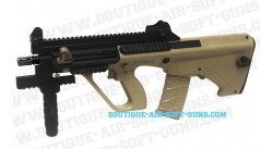 Réplique AEG Steyr AUG A3 XS commando Tan