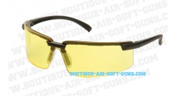 Lunettes de protection airsoft swiss arms jaune