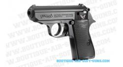 Réplique airsoft spring Walther PPK/S noir - 0.5 joules