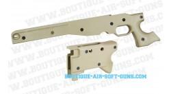 Coque et crosse motif Desert pour Sniper AW-338 Ares