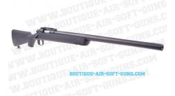 Sniper airsoft type VSR10 noir à ressort 1.8J - 6mm