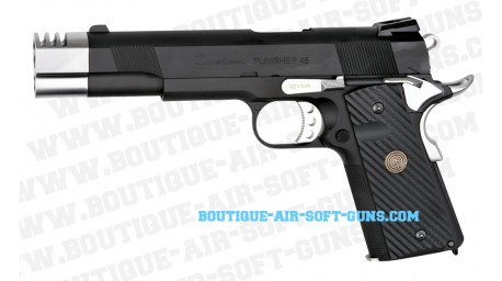 Réplique pistolet airsoft Punisher GBB Madbull