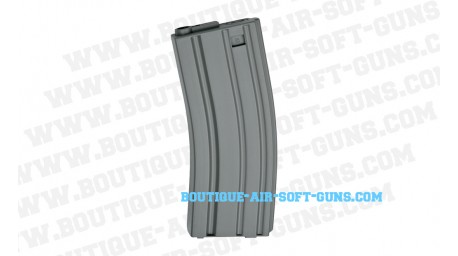Chargeur airsoft AEG 30 coups M15 M16 gris