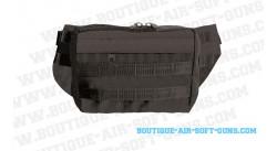 Sacoche tour de taille pour pistolet noir