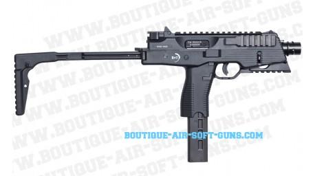 Réplique airsoft GBB pistolet Mitrailleur MP9 A3 B&T noir - 1 joule