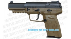 Réplique pistolet Fn Herstal Five-seven CO2 Tan - 6mm