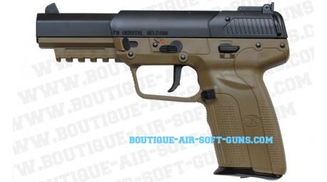 Réplique pistolet Fn Herstal Five-seven CO2 Tan - 6mm