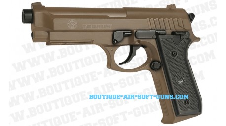 Pistolet airsoft spring Taurus PT92 HPA TAN - 0.5 joule