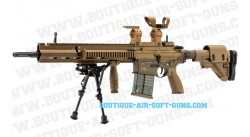 Replique sniper GBBR HK-G28 full metal 1.6J semi-auto blowback VFC - cal 6mm
