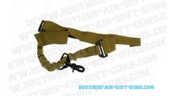 Sangle 1 point GFC Bungee coyote