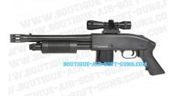 Mossberg 590 réplique fusil à pompe avec lunette