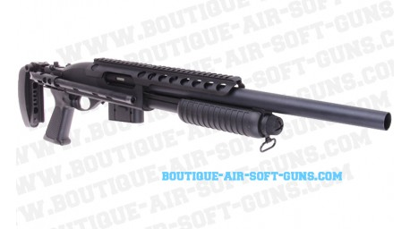 Réplique airsoft fusil à pompe 870 tactical shotgun - cal 6mm bbs