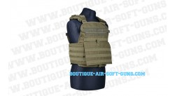 Veste tactique airsoft Amor olive