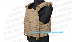 Gilet tactique Carrier plate Hyplaton coyote