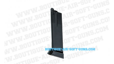 Chargeur GBB metal pour réplique pistolet CZ SP-01 Shadow 26 billes - cal 6mm bbs