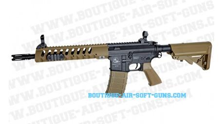 Fusil airsoft AEG SLV Armalite light Tactical M15 TAN cal 6mm bbs