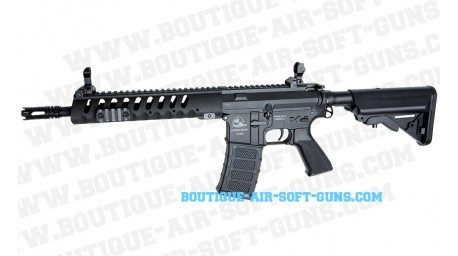 Fusil airsoft AEG SLV Armalite light Tactical M15 noir cal 6mm bbs