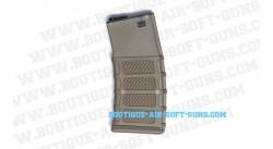 Chargeur airsoft pour réplique fusil M15 TAN desert - 300 billes