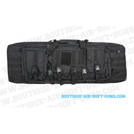 Sac de transport Doublegun noire - 90cm